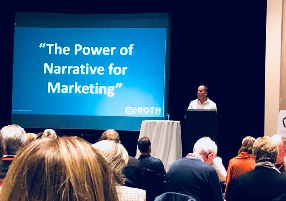 ROTH Founder Stuart Rothgiesser speaks at Independent Schools Marketing Association conference on Storytelling for Schools Marketing